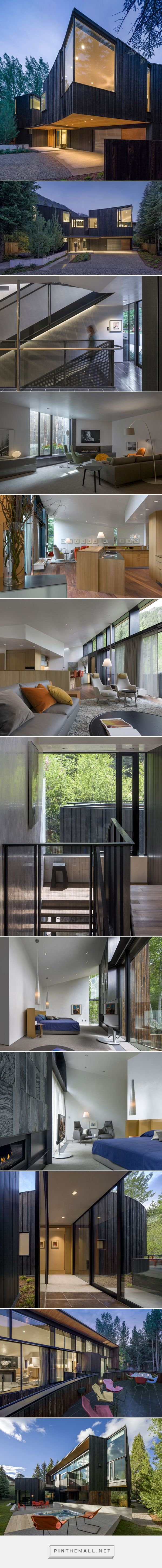 will bruder architects builds modern mountain retreat in aspen - created via http://pinthemall.net
