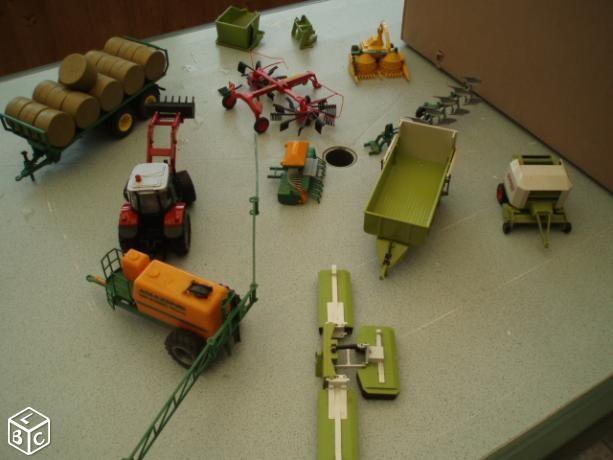 Tracteur materiel agricole siku