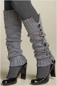 calentadores crochet