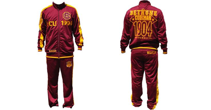 Bethune Cookman University Jogging Suit - Brothers and Sisters' Greek Store
