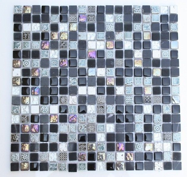 Flower Wall Decor Reversible Mosaic With Chalkboard: 1000+ Images About Kitchen Splashback Art Deco On