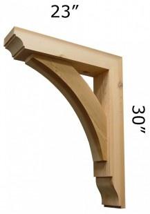 Wood Bracket 02t21 Wood