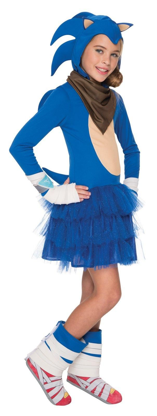 Sonic Boom: Sonic Costume For Girls from CostumeExpress.com