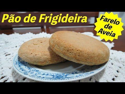 (216) Pão de Farelo de Aveia na Frigideira da Marinoca | Cozinha da Marinoca - YouTube