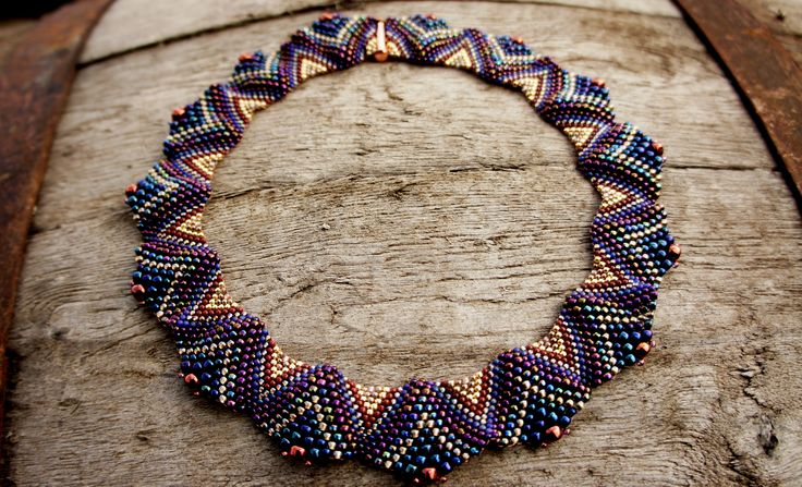Peyote Necklaces Sculptural