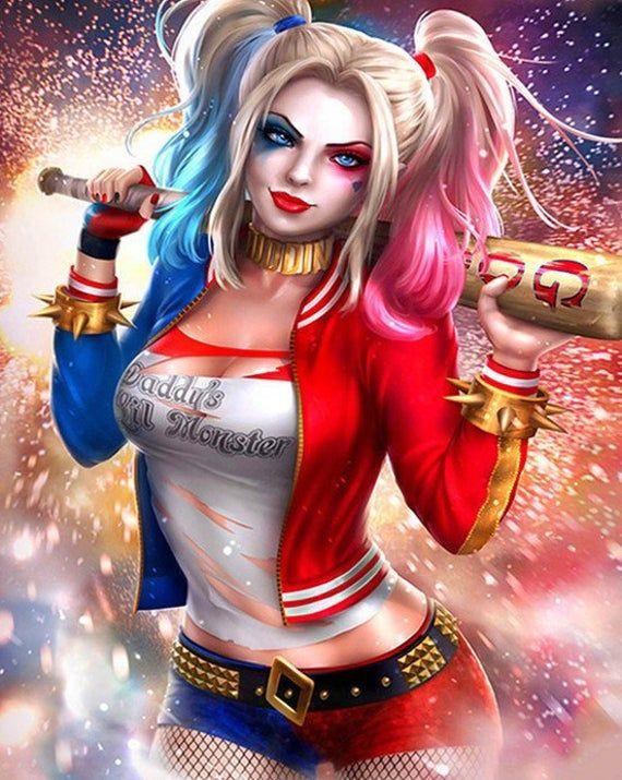Pin On Chicas De Comics Harley quinn anime hd wallpaper