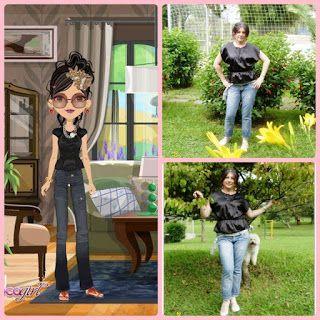 moda maria: mi blusa coco girls