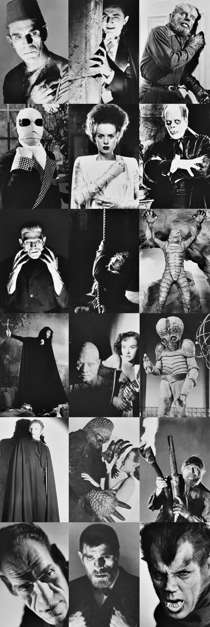 Universal Monsters - I just had to add this...I grew up on these monster movies. My mother and I would stay up until 2am on Saturday nights to watch and 'tape' these movies on channel 46, lol!!! The Great Ones!!!