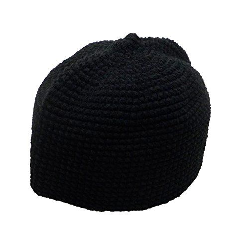 87c6942e808 Al-Ameen AMN001 Muslim Crochet Prayer Hat Kufi Taqiyah Takke Headware Skull  Cap Islam Gift. High quality kufi hat for Muslim Men. Thick and comfortable  fit.