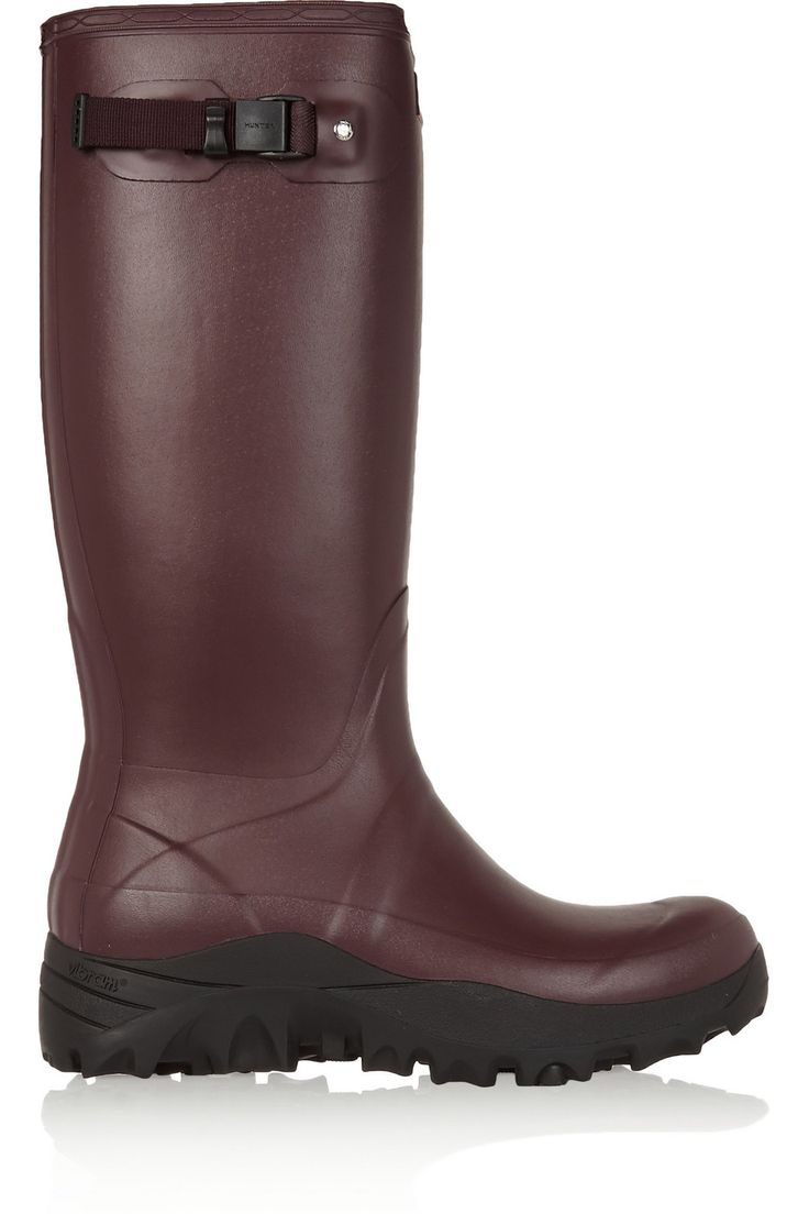 HUNTER ORIGINAL Tall Snow Wellington boots. #hunteroriginal #shoes #boots