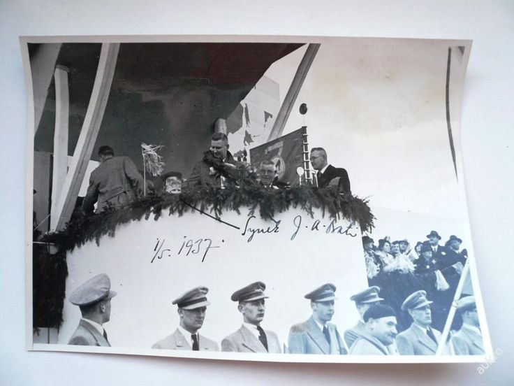 J.A.BAŤA a jeho syn 1.5.1937 !!! ZLÍN