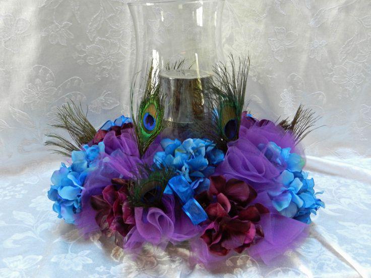 Tulle Flower Centerpiece