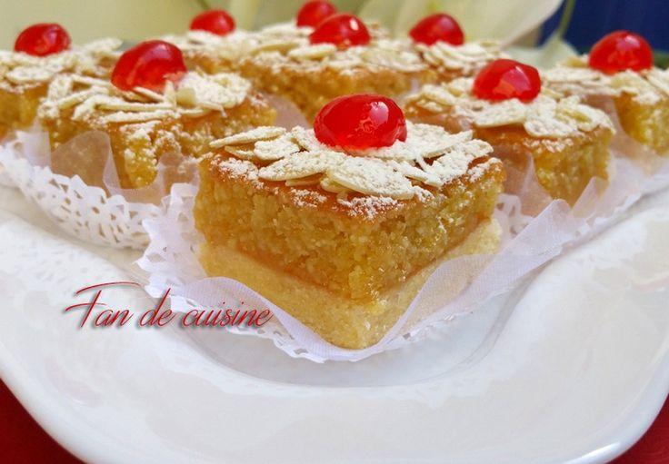 Asalam Alaykom,   Je vous propose aujourd'hui un gâteau très facile à faire, et très bon c'est la recette des amandines cuite dans un p...