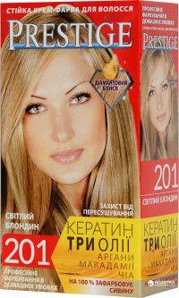 Крем-краска для волос Vip's Prestige 201 Светлый блондин 115 мл (3800010504102)