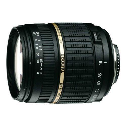 Tamron - Tamron - A014 - Objectif à zoom - 18 mm - 200 mm - f/3.5-6.3 Xr Di Ii - Canon Ef A14E - Tamron-ZAF18-200XRDIC