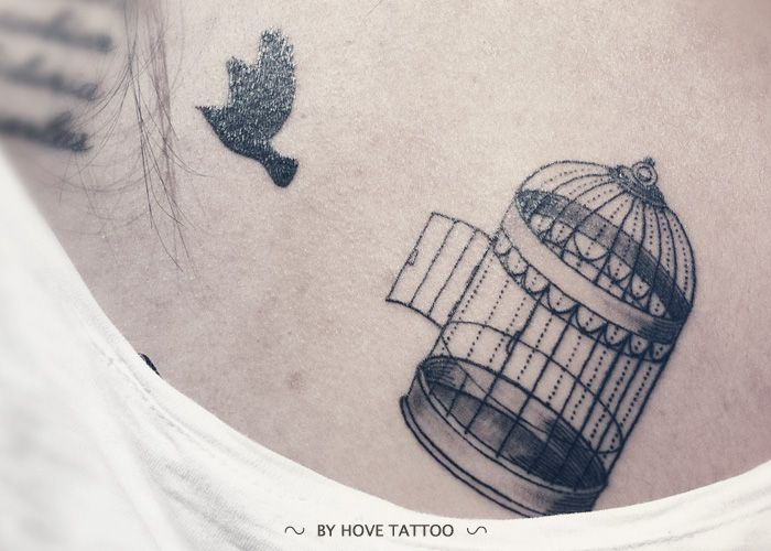 bird cage tattoos - Google Search
