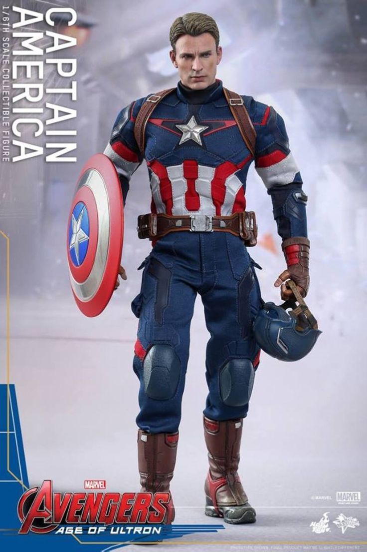 Age of Ultron Captain America Hot Toys Figure. Great costume reference.