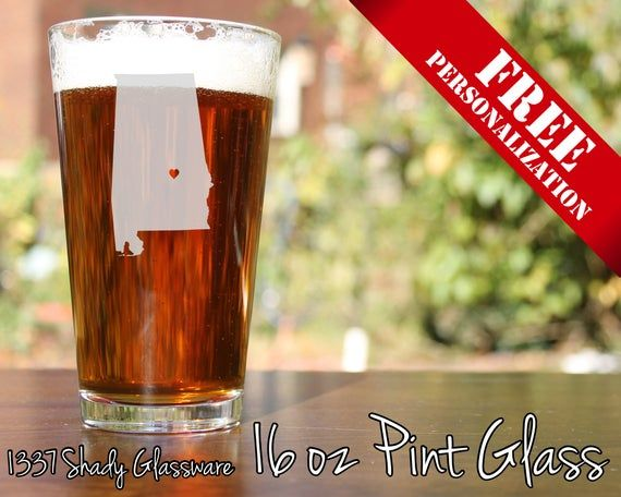Personalised PHOTOGRAPHY 1 Pint Beer Glass FREE ENGRAVING Camera Birthday Gift