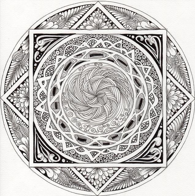 55 best mandalas images on Pinterest