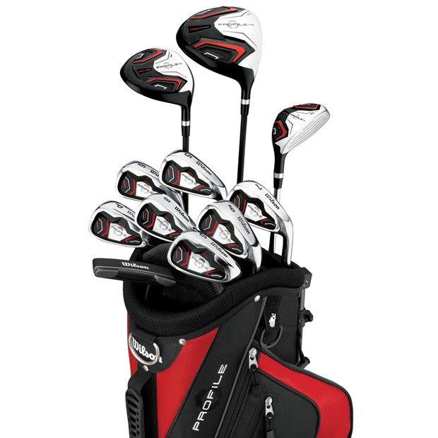 Titleist Golf Clubs Complete Set | NEW WILSON GOLF CLUBS PROFILE HL COMPLETE SET CLUB SET GRAPHITE/STEEL
