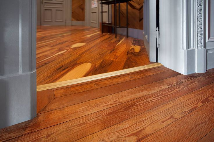 Pisos de madera diferentes en los que el perfil separador for Perfiles de madera