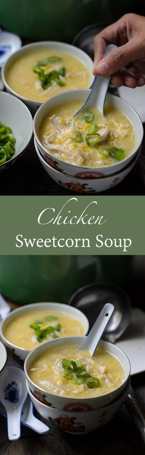Smooth Silky chicken and sweetcorn soup Video Million thanks to my well wishers... and thank you :  DG of Tasted and Tested a...