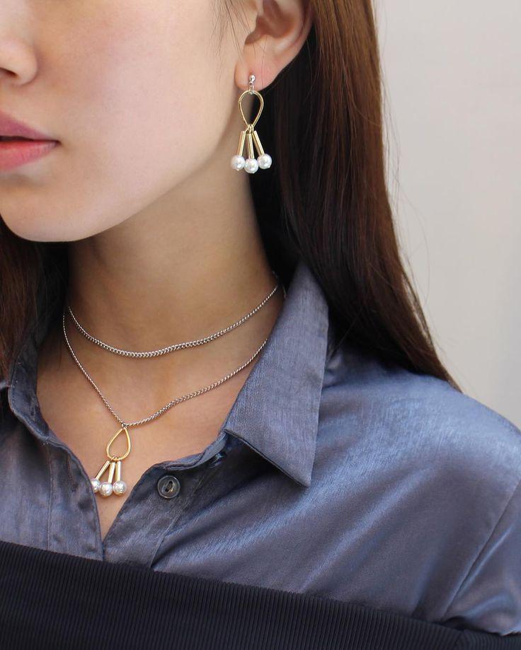 fashion jewelry design / pearl jewelry THEGOBO