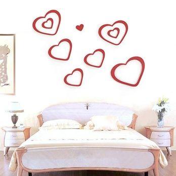 Uygulaması kolay, çift taraflı bant ile tüm duvarlara yapışabilir şık tasarımları ile evinizde fark yaratacaksınız!  Dekoratif Duvar Süsü Kalp Modeli 13.90TL  http://www.budurr.com/Dekoratif-Duvar-Susu-Kalp-Modeli_696