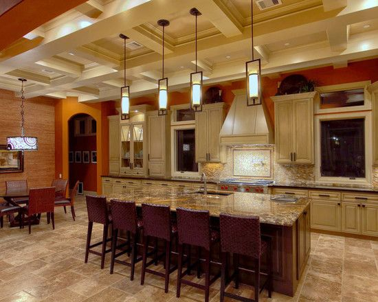 29 best kitchen images on pinterest cherry cabinets for Kitchen island houston