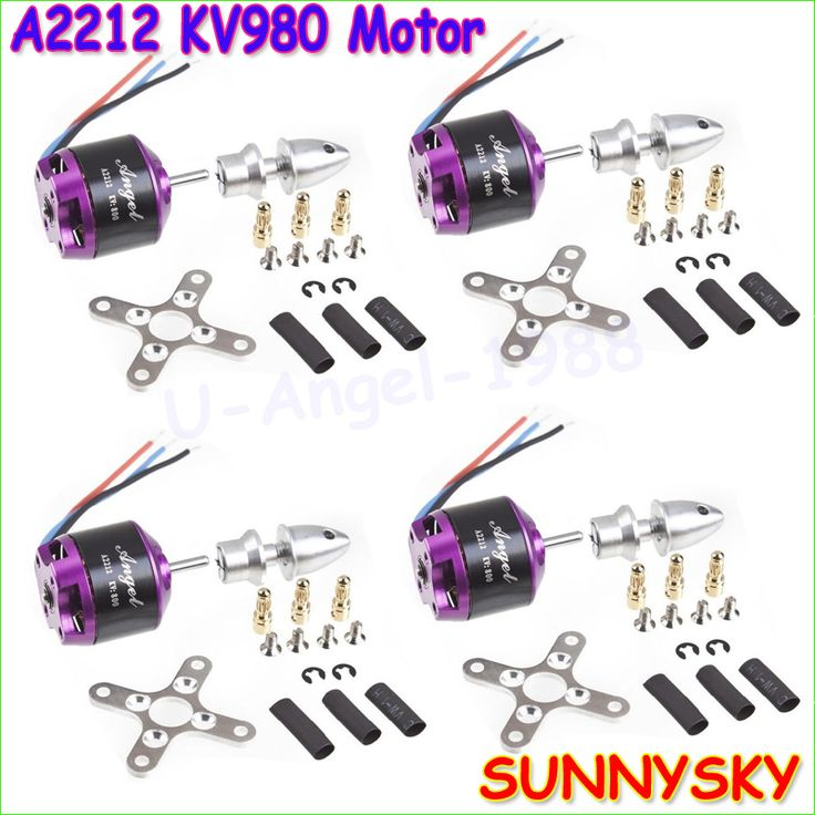$36.89 (Buy here: https://alitems.com/g/1e8d114494ebda23ff8b16525dc3e8/?i=5&ulp=https%3A%2F%2Fwww.aliexpress.com%2Fitem%2FWholesale-4pcs-lot-SUNNYSKY-Angel-A2212-980KV-KV980-Brushless-RC-Motor-for-DIY-Multirotor-Quardcopter-Quad%2F32584577012.html ) Wholesale 4pcs/lot SUNNYSKY Angel A2212 980KV KV980 Brushless RC Motor for DIY Multirotor Quardcopter Quad-X for just $36.89