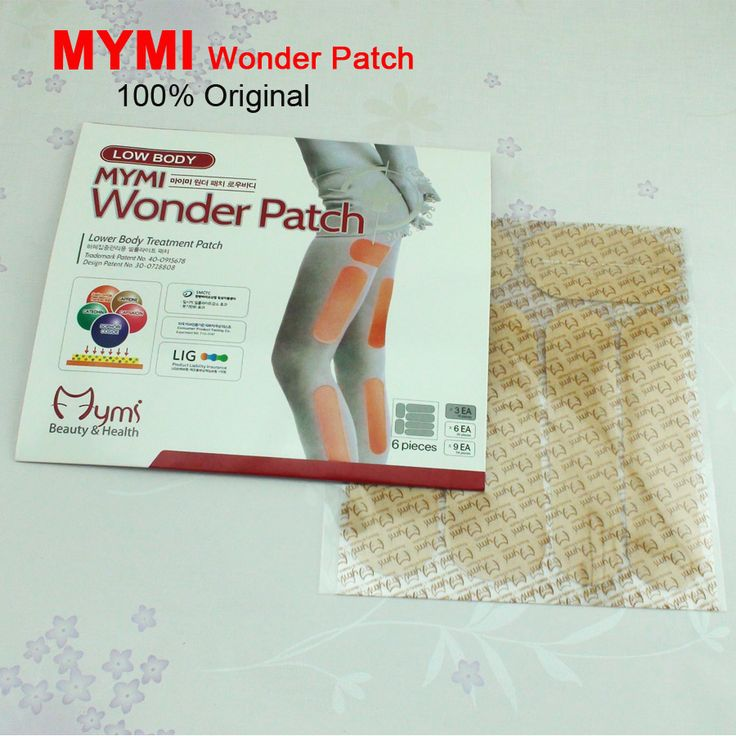 18Pcs/Box Slimming Patch Leg and Hand Lose Weight Mymi Wonder Patch Lower Body Treatment Slim Patch Cream Plaster C095