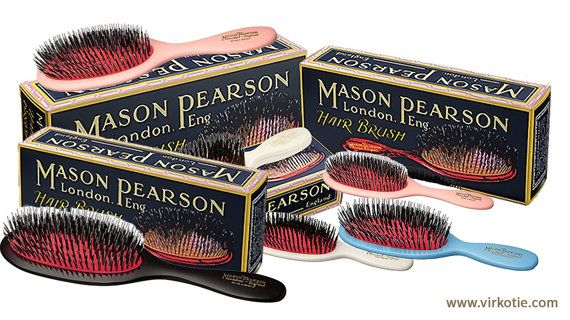 Mason Pearson Hair Brush Personalised with your by Virkotie2014
