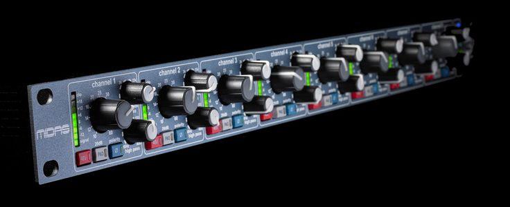 MIDAS XL 48 Preamp  Bluesound