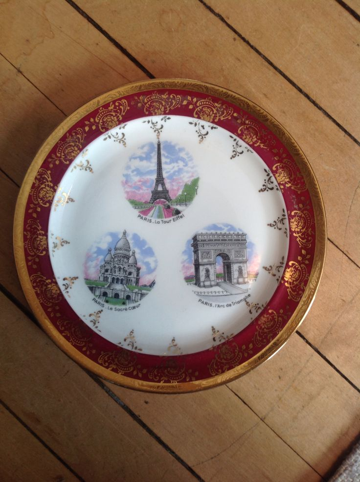 Limoges plate