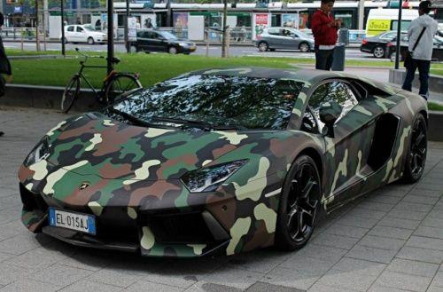 Lamborghini Aventador do jogador Muntari recebe pintura exótica ...