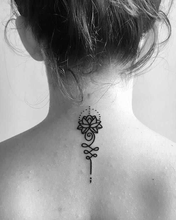 101 Semicolon Tattoos Neck Tattoos Women Back Of Neck Tattoo Tiny Tattoos For Women
