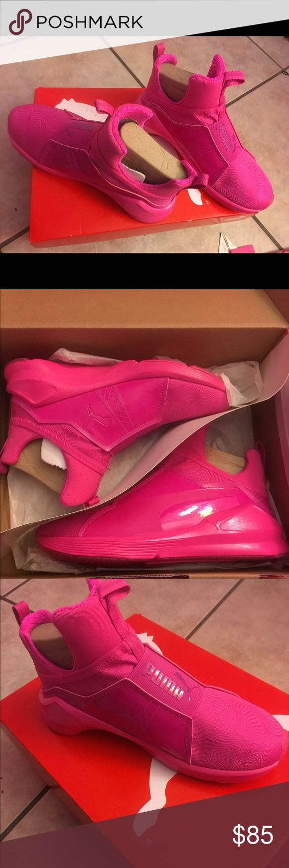 Kylie Jenner Fierce Bright pink Pumas Brand new, never worn Puma Shoes Sneakers