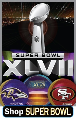 Super bowl party supplies super bowl xlvii for Super bowl party items