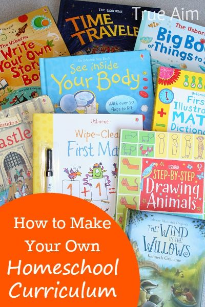How to make your Own Homeschool Curriculum with Usborne Books - Combine award winning literature & Activities to customize your children's education