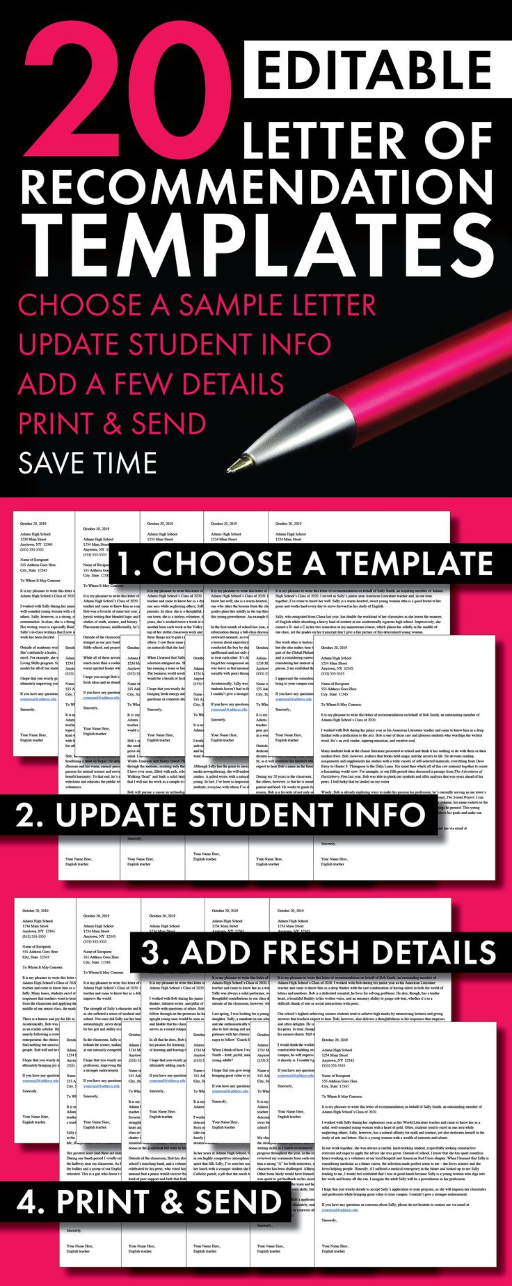 College Essay Services College Application Letters Of Recommendation Templates High School  Teachers Save Time With This Set Customessays also Literary Analysis Essay On The Cask Of Amontillado  Best High School English Images On Pinterest Argumentative Essay Outline