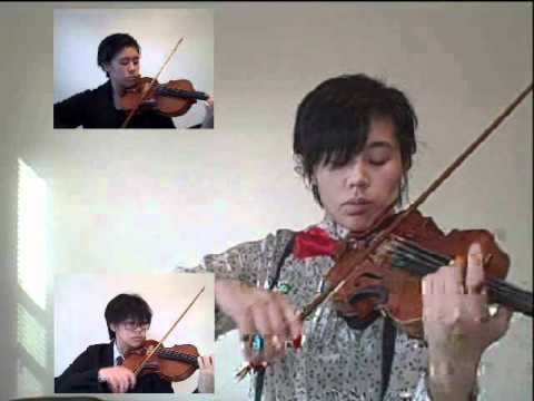 Doctor Who Theme on the violin