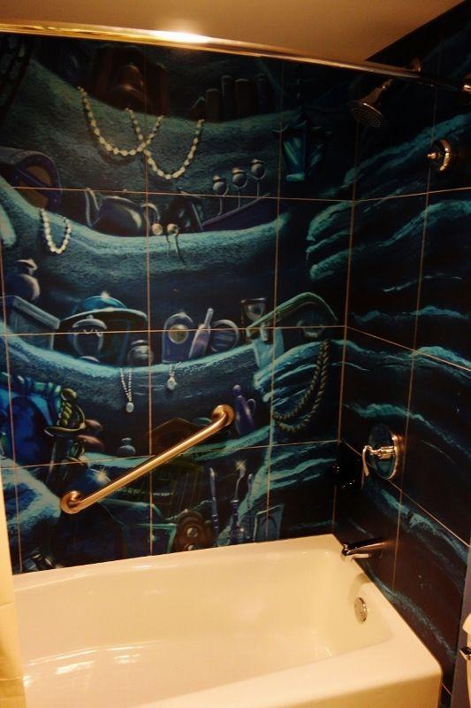 Photo Tour of Standard Little Mermaid Rooms at Disney's Art of Animation Resort