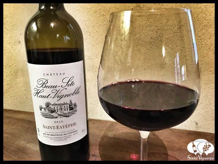 Score 92/100 Wine review, tasting notes, rating of Château Beau-Site Haut-Vignoble, Bordeaux. Description of aroma, palate, flavors. Join the experience.