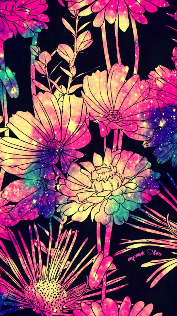 Raining Neon Flowers Androidwallpaper Iphonewallpaper Wallpaper Galaxy Sparkle Glitter Lockscreen Cute Emoji Wallpaper Iphone Wallpaper Emoji Wallpaper