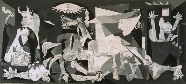 Гражданская война глазами Пабло Пикассо и Сальвадора Дали