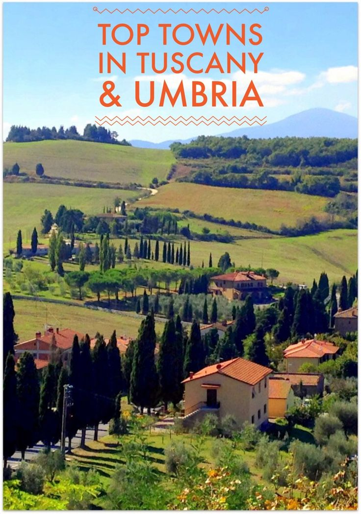 10 of the most beautiful hill top towns in Italy. Explore Tuscany and Umbria and fall in love with these must see to believe Italian locations.