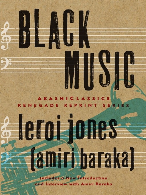 Leroi Jones/Amiri Baraka, Black Music (1968)