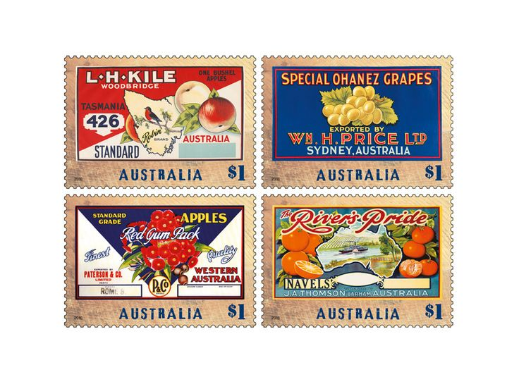 COLLECTORZPEDIA Nostalgic Fruit Labels