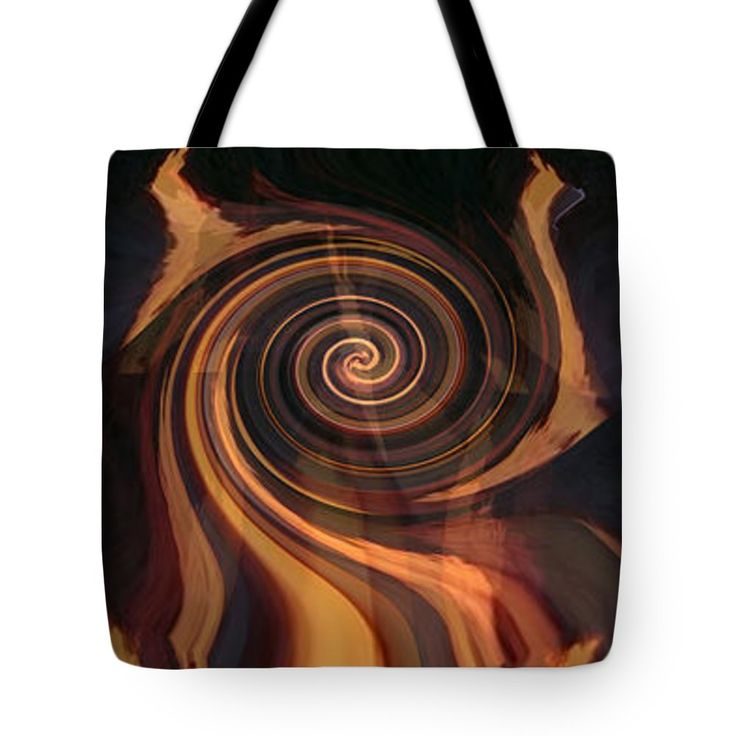 """Cosmic Wheels in motion  at the Centre is the hot one dancing and two cool ones are fanning out the  Tote Bag by NAVIN JOSHI (18"""" x 18"""").  The tote bag is machine washable, available in three different sizes, and includes a black strap for easy carrying on your shoulder.  All totes are available for worldwide shipping and include a money-back guarantee."""