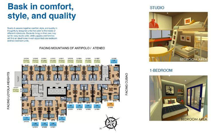 studio a katipunan brochure p10 condo units